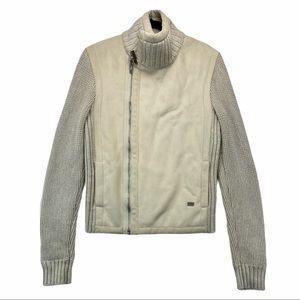 Armani Exchange Wool Sweater Jacket Medium